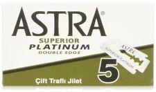 Astra ASTRAGR - Pack de 100 cuchillas acero inoxidable de doble hoja (Universal)