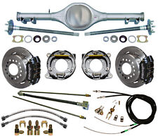 CURRIE 67-69 F-BODY MONO-LEAF REAR END & WILWOOD DISC BRAKES,LINES,CABLES,AXLES