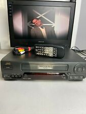 New listing Jvc Hr-A63U Pro-Cision 4 Head Hi-Fi Stereo Vhs Video Recorder Vcr w/Remote