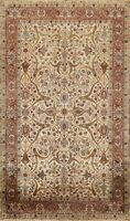 Vegetable Dye Floral Traditional Oriental Area Rug Wool Hand-knotted 6x9 Carpet