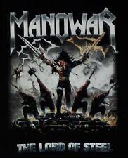 Manowar The Lord of Steel tour shirt 2012 - Size L - (Official Merch) NEUWERTIG
