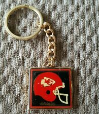 VINTAGE 1980s KANSAS CITY CHIEFS  KEYCHAIN, NEW OLD STOCK