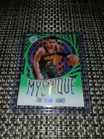 2019 20 Panini Illusions Basketball Trae Young Mystique Emerald Green Acetate