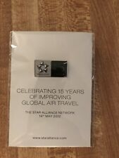 1.5 inch Lapel Pin - United Airlines /Star Alliance - 15 year association pin
