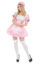 Womens Little Miss Muffet Storybook Fairy Tale Fancy Dress Costume SIZE MEDIUM