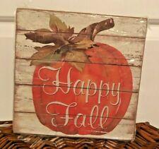 Brand New Ashland Happy Fall Sign