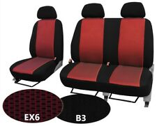PEUGEOT BOXER VAN UP TO 2006 UPHOLSTERY FABRIC UNIVERSAL FRONT SEAT COVERS