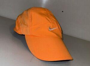Nike Dri-fit Featherlight Orange Adjustable Hat