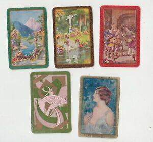 B111  Vintage Swap Cards Australian  Early  styles mix of women gardens retro