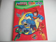 LIVRE DE COLORIAGE ENFANT - SUPER FRIENDS - COLORIO