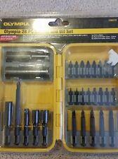 Olympia DW2162 28 Piece Socket  Driver Bit Set 3/8 1/2 1/4 5/16 sockets hex torx