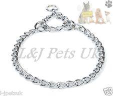 Semi Choke / Check Collar Chrome Chain  All sizes Dog Control