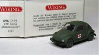 Wiking 1:87 VW 1303 Käfer OVP 696 12 Bundeswehr Militär - Rotes Kreuz