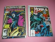 Rise of the Midnight Son Morbius 1-32 all around VF/NM! Marvel complete set run