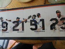 San Diego Padres 1998 World Series Bobblehead Gwynn, Caminiti, Hoffman, Vaughn