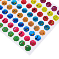 Children Faces Reward Stickers School Teacher Merit Praise 10Pcs/Pac G1