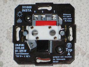 JUNG 245,08  Tast - Dimmer für Glühlampen mit IR-Empfänger