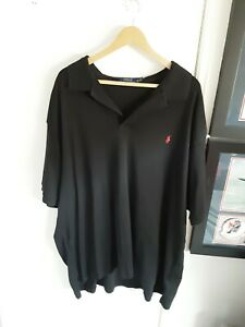 Ralph Lauren Black Polo Shirt 3xb 31in pit to pit