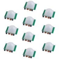 10Pcs HC-SR501 Infrared PIR Motion Sensor Body Detector Module for Arduino