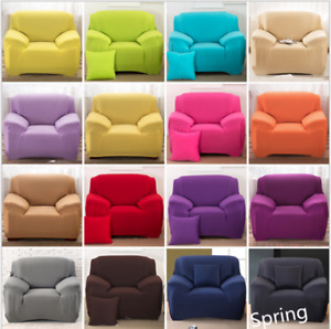 Top Elastic Sofa Cover Slipcover Stretch Couch Furniture Protector Fit 1-4 Seat