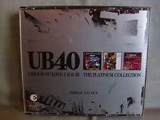 UB40/ UB 40- Labour of Love I,II & III- Platinum Collection WIE NEU