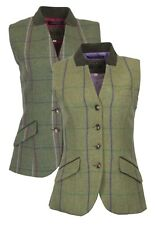 Walker & Hawkes Ladies Tweed Waistcoat Margate Teflon Gilet 8-20 Pink Purple