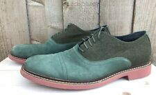Cole Haan C10768 Green Stitchlife Wingtip Oxford Shoes Size US 14 M