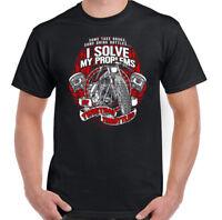 Twisting Throttles Mens Funny Biker T-Shirt Motorcycle Motorbike Bike Chopper