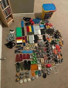 Fisher Price Construx Huge Lot, Vintage toys, military, men, weapons, bucket