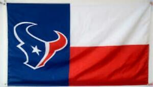 Texans FLAG 3X5 Houston Banner American Football Fast USA Shipping New