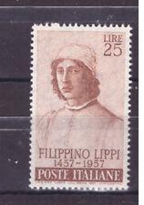 FRANCOBOLLI Italia Repubblica 1957 Filippino Filippi 25 Lire MNH** SAS820