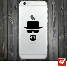 Sticker Autocollant Apple Iphone 4 5 6  Lot de 2X - Heisenberg breaking bad IPH1