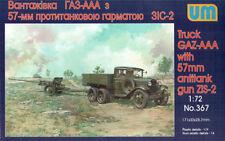 UM #367, 1/72, Truck GAZ-AAA with 57mm Gun ZIS-2