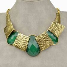 Gothic Resin Lucite Chunky Charm Choker Collar Bib Necklace Pendant New