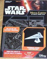 Star Wars Imperial Star Destroyer Metal Earth 3D Model Kit Fascinations MMS254