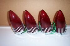 1959 Cadillac taillights, set of four, new, reproduction.