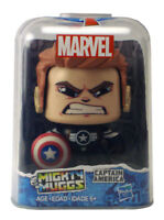 Marvel Mighty Muggs Captain America Figure #10 Avengers Hasbro New