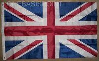3'x5' British Nylon Sewn Applique Flag Outdoor UK Union Jack United Kingdom 3X5