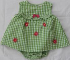 Gymboree Spring Blossom romper dress bubble size 3 6 mos girls clothes #1718/19
