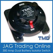 TMC 300A DUAL BATTERY ISOLATOR SWITCH KILL - Boat/Caravan/4X4/RV/Marine/Cut-off