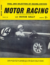 Motor Racing - BRSCC journal - magazine - March 1958