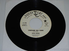 DOUG OWENS Think About Me/ Lonesome Old Town 45 Pussy Cat Records 007002