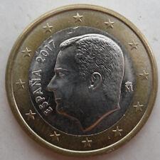 Münze 1 EURO Spanien 2017 Kursmünze Umlaufmünze
