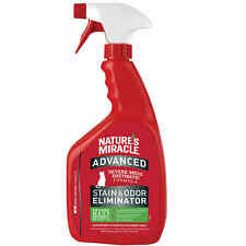 Nature's Miracle Advanced Stain and Odor Eliminator For Severe Cat Messes, 32 fl