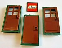 3 LEGO Doors with Frames 1x4x6 - Split from 21319 Friends Central Perk - New