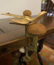 Antique Victorian Sewing Bird Clamp Holder
