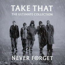 TAKE THAT NEVER FORGET THE ULTIMATE COLLECTION CD GREATEST HITS VERY BEST OF NEW