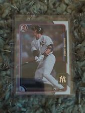 Lot Of 25 Yankees + Aaron Judge 2015 Bowman Base Rookie Card