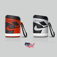 Air Jordan 1 AJ1 Keychain Silicone Case For Apple Airpods (1st & 2nd Generation)