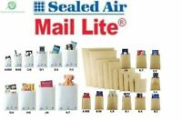 MAIL LITE 5 10 25 50 100 200 300 400 500 1000 BUBBLE ENVELOPES WHITE GOLD BROWN